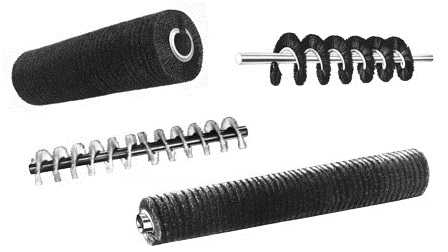 Spiral Conveyor Cleaning Brushes
