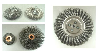 Radial End, Crimped Wire, and Knotted Wire Wheel Brushes