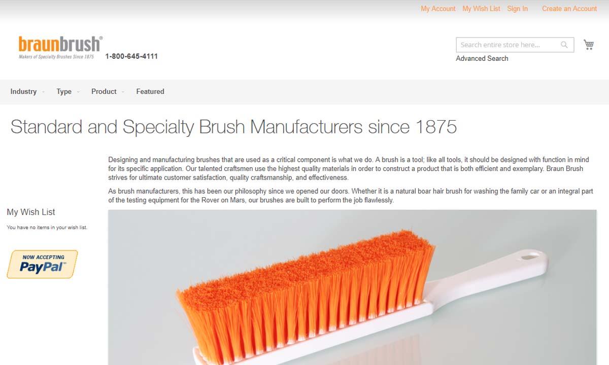 Braun Brush Company