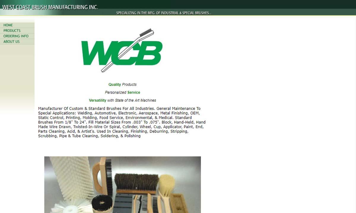 West Coast Brush Mfg., Inc.