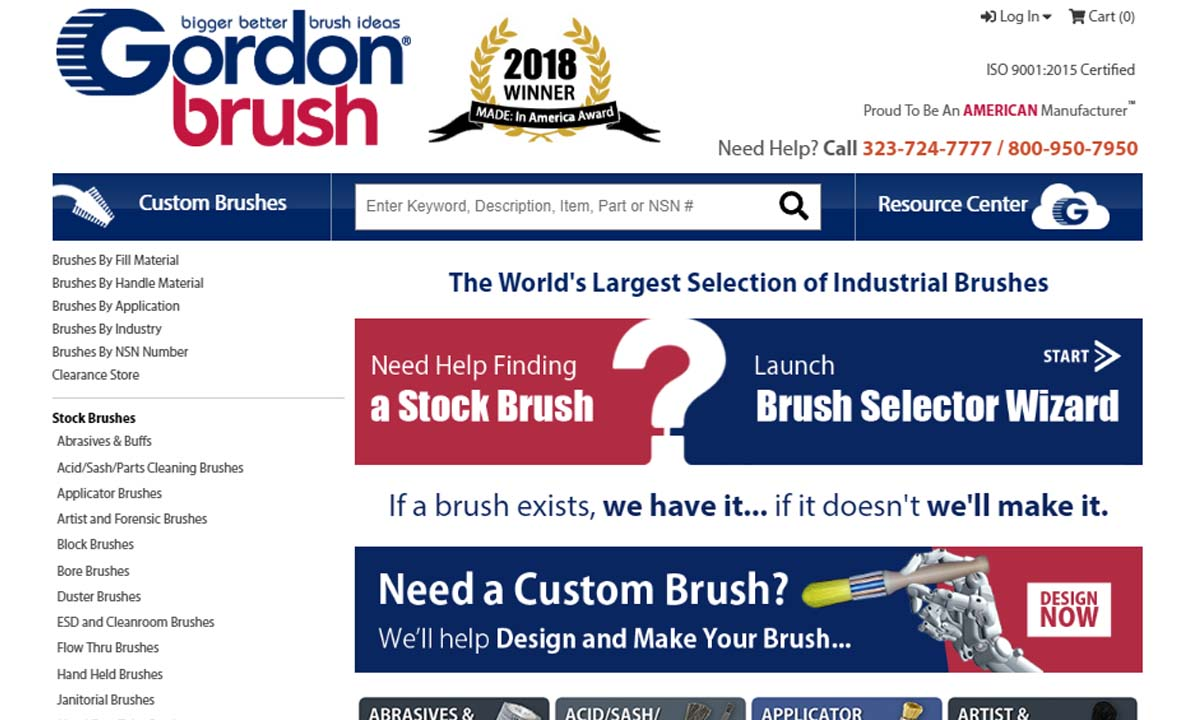 Gordon Brush Mfg. Co., Inc.