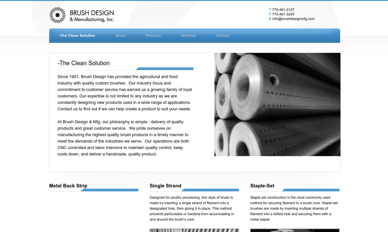 Brush Design and Manufacturing Inc.