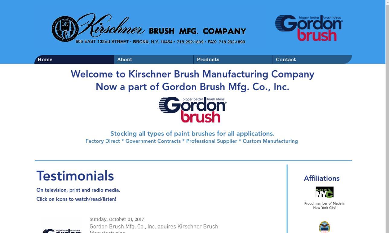 Kirschner Brush MFG. Company