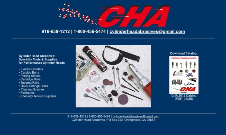 Cylinder Head Abrasives