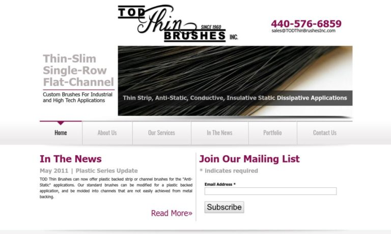 Tod Thin Brushes, Inc.
