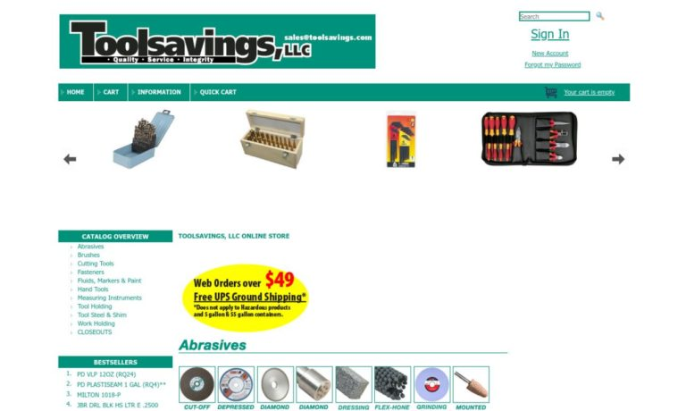 Toolsavings LLC